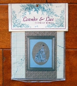 Lavender and Lace Cross Stitch