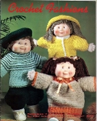 Leisure Time Crochet Fashions for Dolls  (LeisureTime_MM1131)