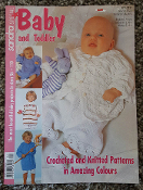 Sandra Knitting Magazine Baby/Toddler Special Issue  #1/2011