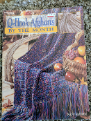 Leisure Arts Q-Hook Afghans by the Month #3138