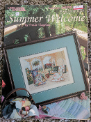 Leisure Arts 'Summer Welcome by Paula Vaughan #2576'