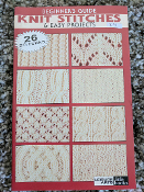 rojectsLeisure Arts Knit Stitches and Easy Projects #75003