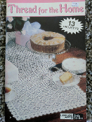 Leisure Arts: 13 Thread Crochet Projects for the Home #75020