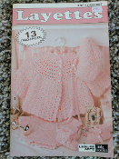 Leisure Arts: 13 Layettes To Knit and Crochet #75012