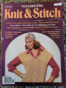 Woman's Day Knit and Stitch Fall 1978 Issue #15