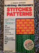 Mon Tricot Knitting Dictionary of Stitches Patterns