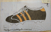 NeedlePoint Shoe Design 'NeedlePoint_819E'