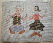 NeedlePoint Design: Sailor and Lady Dancing 'NeedlePoint_141'