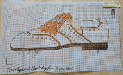 Shoe NeedlePoint Design 'Workshop_819C'