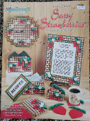 Needlecraft Shop Sassy Strawberries in Plastic Canvas