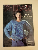 Phildar in Top Secret Mohair yarn Leaflet #14