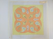 NeedlePoint Design of Paisleys 'NeedlePoint_497'