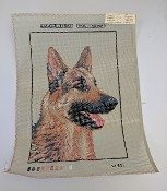 German Shepherd Needle Point Design 'Tapex_W631'