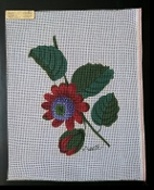 A Leaf/Floral Needlepoint Design  'NeedlePoint_866'