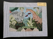 NeedlePoint Jungle Animals Design 'Rosalie_P1061'