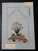 NeedlePoint Ocotillo and Raincloud Design 'NeedlePoint_863'