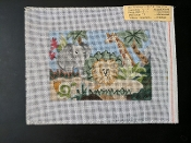 Jungle Animals NeedlePoint Design 'Rosalie_A28'