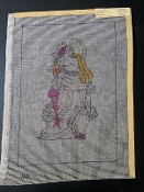 Hoagie Princess NeedlePoint Design 'NeedlePoint_412'