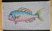 A Large Fish Needlepoint Design 'NeedlePoint_407'
