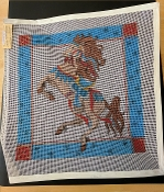 Horse Needlepoint Designs on Canvas 'NeedlePoint_401'