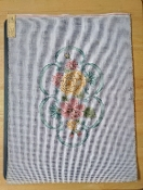 NeedlePoint Bench Cover Floral Design 'Rosalie_P118'