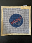 A 'Boost' Needlepoint Design 'NeedlePoint_405'