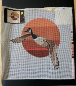 Flying Duck NeedlePoint Design 'NeedlePoint_417'