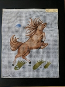 A Leaping Horse Needlepoint design 'NeedlePoint_846'