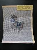 Kappie Needlepoint Canvas- 'Merry-Go-Round Horse #1195'