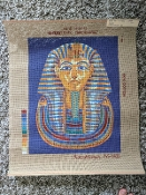 NeedlePoint Design- Tutankhamen 'NeedlePoint_145-1832'