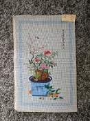 Needlepoint Asian Vase of Flowers 'NeedlePoint_904'