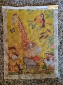 Jungle Animals Needlepoint Design 'NeedlePoint_425'