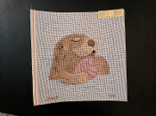 A Beaver Hand-painted Needlepoint Design 'PIP_S39'