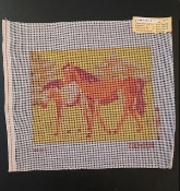 2 Horses Needlepoint Design 'NeedlePoint_812'