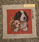 '2 Dog Buddies' Needlepoint Design 'NeedlePoint_804'