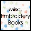 Misc. Embroidery Books